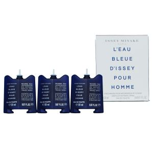 Issey Miyake L'eau Bleue D'issey pour Homme 3 Refills for Travel Spray 3 x 20ml