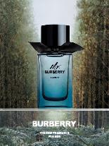 Mr. Burberry Element, ein Duft, der moderne Stärke und grüne Frische vereint.