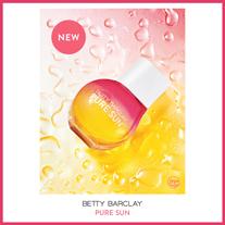 Betty Barclay Pure Sun fängt florale Aromen aus exotischen, mediterranen Gefilden dieser Welt ein.