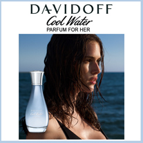 Cool Water Parfum Woman von Davidoff – ein Eau de Parfum, das die intensive Frische des Meeres einfängt.