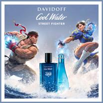 Entdecken Sie die neue Energiequelle: Cool Water Champion Edition Street Fighter, das Eau de Toilette für Damen und Herren